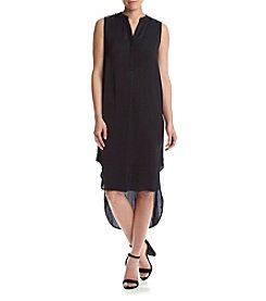 Chelsea & Theodore® Split Neck Dress
