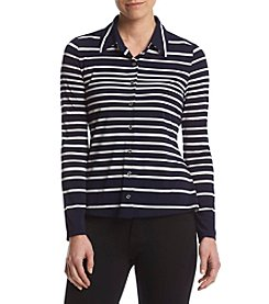 Tommy Hilfiger® Striped Knit Top