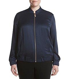 MICHAEL Michael Kors® Plus Size Bomber Jacket