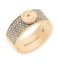 Michael Kors® Pave Crystal Ring