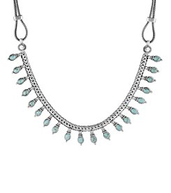 Lucky Brand® Delicate Turquoise Collar Necklace
