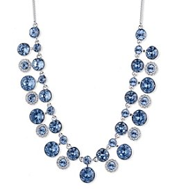 Givenchy® Sapphire Crystal Drama Frontal Necklace