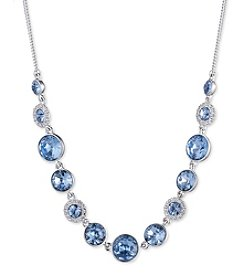 Givenchy® Sapphire Crystal Frontal Necklace