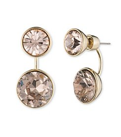Givenchy® Goldtone Floater Drop Earrings