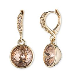 Givenchy® Rose Stone Drop Earrings