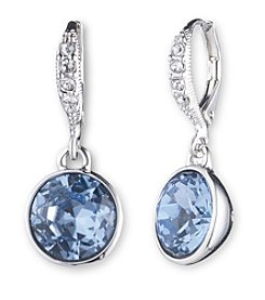 Givenchy® Sapphire Crystal Drop Earrings