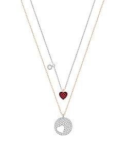 Swarovski® Crystal Wishes Pendant Necklace Set