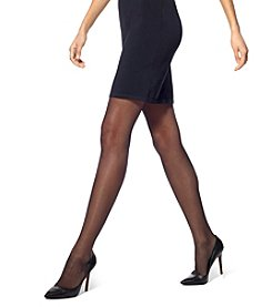 HUE® Flat-Tering Fit Sheer Tights