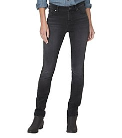 Chaps® Gray Wash Skinny Jeans