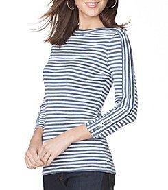 Chaps® Stripe Knit Top