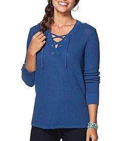 Chaps® Texture Stitch Sweater