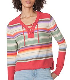 Chaps® Serape Stripe Sweater