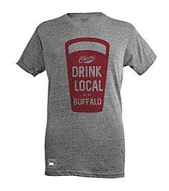 Brew City Brand Men's Short Sleeve Buffalo Drink Local Pop Top Tee