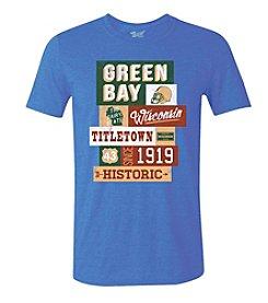 Brew City Brand Men's Short Sleeve Green Bay Billboard Tee
