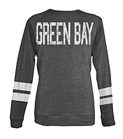 Brew City Brand Men's Long Sleeve Green Bay Coach Style Sweatshirt