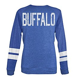 Brew City Brand Men's Long Sleeve Buffalo NY Coach-Style Sweatshirt