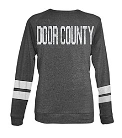 Brew City Brand Men's Long Sleeve Door County Coach Style Sweatshirt