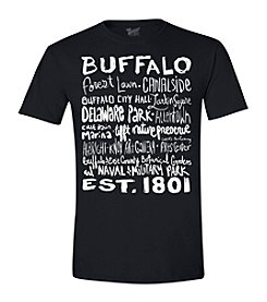 Brew City Brand Men's Short Sleeve Buffalo Destinations Tee