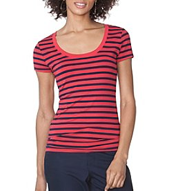 Chaps® Striped Jersey Tee