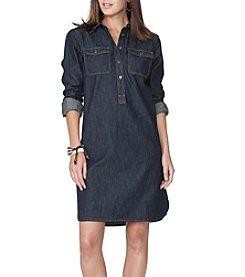 Chaps® Denim Shirtdress