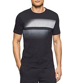 Calvin Klein Men's Short Sleeve Dot Print Tee