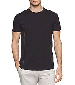 Calvin Klein Men's Short Sleeve Solid Line Tee
