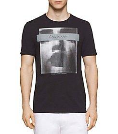 Calvin Klein Men's Short Sleeve Pixelated Photo Tee