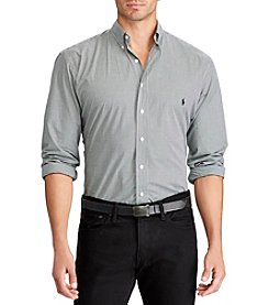 Polo Ralph Lauren® Men's Big & Tall Long Sleeve Solid Button Down Shirt