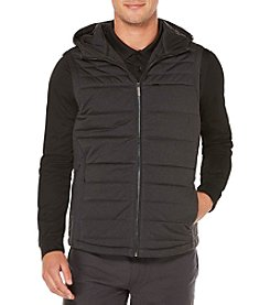 Perry Ellis® Men's Puffer Vest With Hood