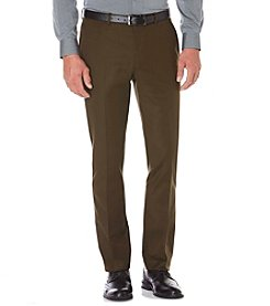 Perry Ellis® Men's Slim Fit Flat Front Suiting Pants