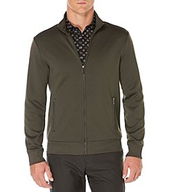 Perry Ellis® Men's Long Sleeve Knit Track Jacket