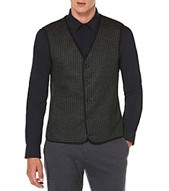 Perry Ellis® Men's Slim Fit Jacquard Party Vest