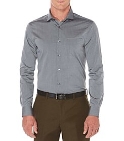 Perry Ellis® Men's Long Sleeve Striped Button Down Shirt