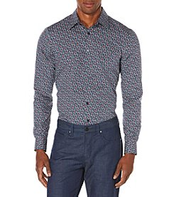Perry Ellis® Men's Long Sleeve Floral Breeze Print Button Down Shirt