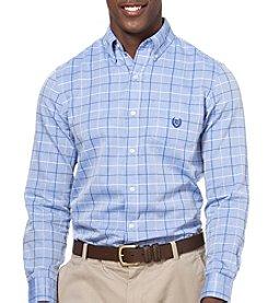 Chaps® Men's Big & Tall Long Sleeve Woven Button Down Shirt