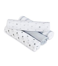 Aden + Anais® Baby Dove 4-Pack Swaddles