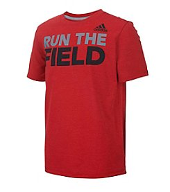 adidas® Boys' 2T-7X Run The Field Short Sleeve Tee