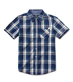 Silver Jeans Co. Boys' 8-20 Short Sleeve Woven Top