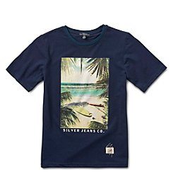 Silver Jeans Co. Boys' 8-20 Short Sleeve Graphic Tee