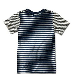 Silver Jeans Co. Boys' 8-20 Short Sleeve Striped Tee