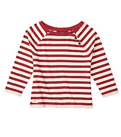 Polo Ralph Lauren® Girls' 12-16 Striped Knit Top