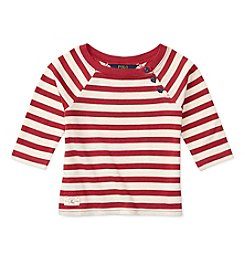 Polo Ralph Lauren® Girls' 2T-6X Striped Knit Top