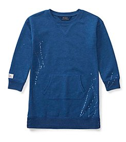 Polo Ralph Lauren® Girls' 2T-6X Fleece Dress