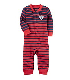 Carter's® Baby Boys Striped Footless 1-Piece