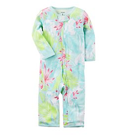 Carter's® Baby Girls' Floral Palm Printed Footless 1-Piece