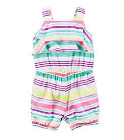 Carter's® Baby Girls' Multi Striped Romper