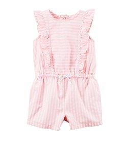 Carter's® Baby Girls' Striped Romper