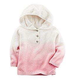 Carter's® Baby Girls' Dip Dye Hooded Cardigan