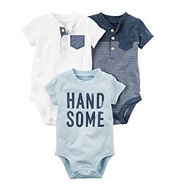 Carter's® Baby Boys 3-Pack Bodysuits