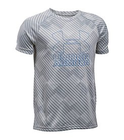 Under Armour® Boys' 8-20 Big Logo Hybrid 2.0 Tee